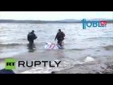 «Челябинский» метеорит вытащили со дна озера Чебаркуль